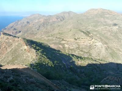 Calblanque y Calnegre - Cabo Tiñoso; viajes culturales por españa; viajes diciembre;puerto de nava